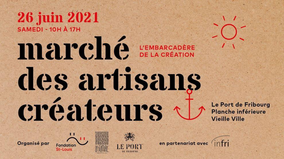 Marché Créateurs Port Fribourg 2021