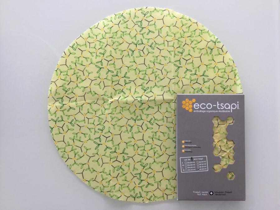 eco tsapi emballage alimentaire la cire d 39 abeille xlarge rond 38 cm 1 pi ce c 39 est la. Black Bedroom Furniture Sets. Home Design Ideas