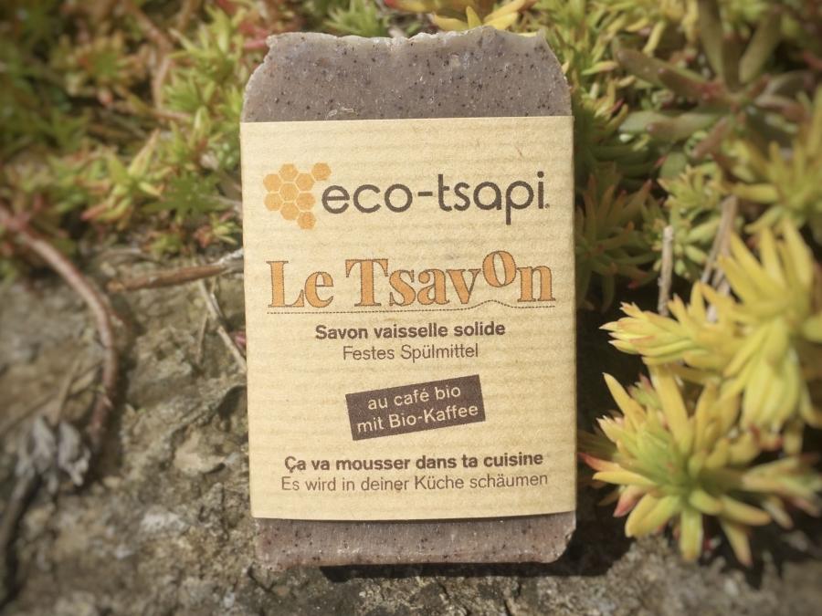 Le Tsavon vaisselle eco-tsapi